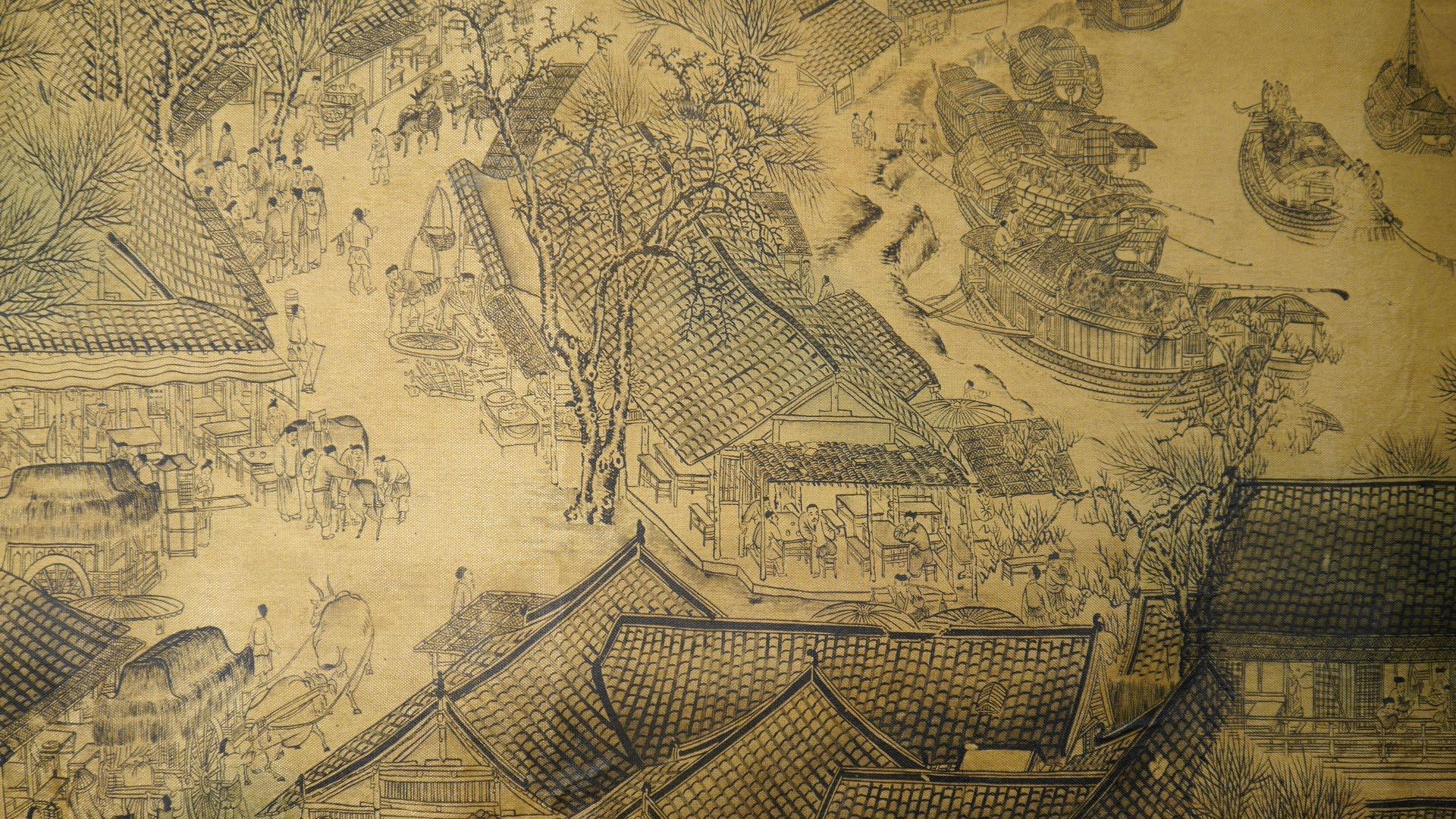 China-Dorf-Hafen-klein
